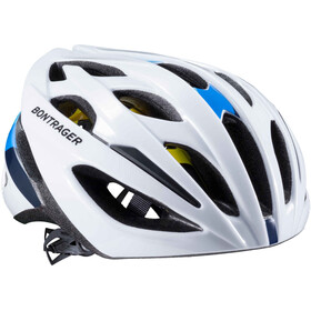 Bontrager Starvos MIPS CE Casque Homme, white/blue
